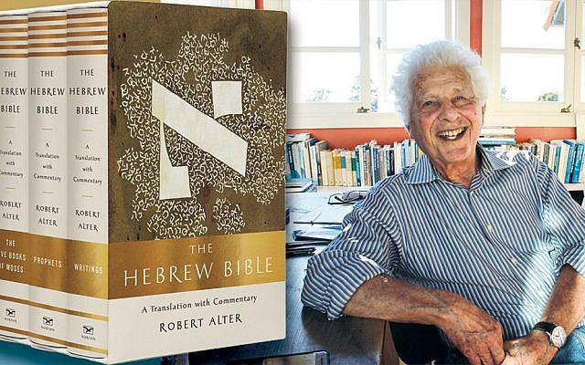 """UC Berkeley professor Robert Alter, at his  """"crow's nest"""" office in Berkeley Hills, California."""