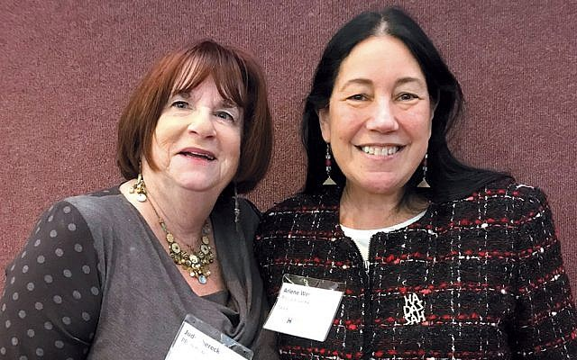 Judy Shereck and Arlene Weiss (Photo provided)
