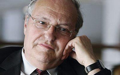Dr. Efraim Zuroff (Courtesy Chabad)