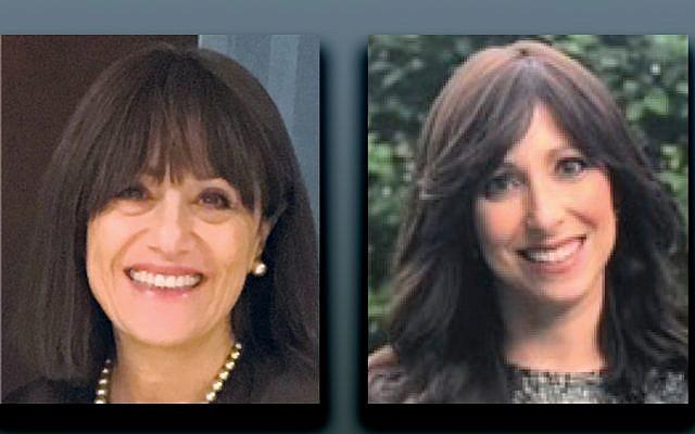 Miriam Goldberg, left, Cyla Steinmetz