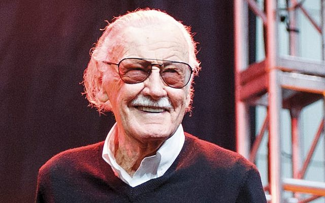 Stan Lee appears onstage at Los Angeles Comic-Con at the Los Angeles Convention Center, October 28, 2017. (Rich Polk/Getty Images)