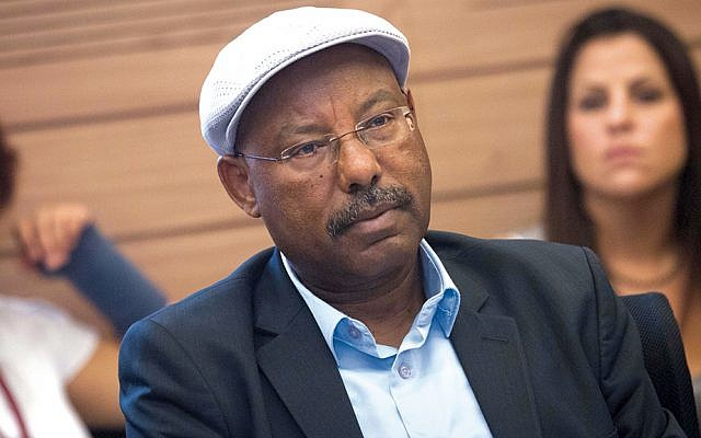 Israeli parliament member Avraham Neguise, shown in 2015, chairs the Immigration, Absorption and Diaspora Committee, which recently held a meeting about anti-Semitism in America. (Miriam Alster/Flash90)
