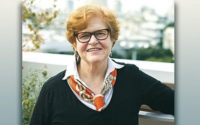 """Deborah Lipstadt, author of the forthcoming book """"Antisemitism Here and Now,"""" says the Pittsburgh synagogue shooting reaffirmed her warnings. (Osnat Perelshtein)"""