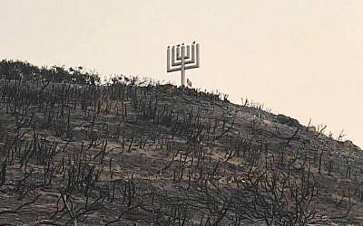 A view of Camp Hess Kramer in Malibu, Calif., shows how devastating the wildfires have been. (Camp Hess Kramer/Facebook)