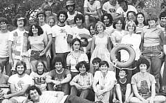 Kutz campers in 1977. (Courtesy of Kutz Camp)
