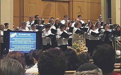 Temple Emanuel of the Pascack Valley choir