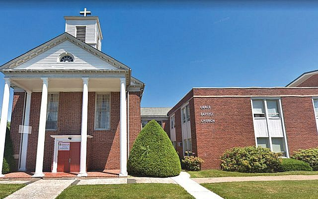 The proposed sale of the Grace Baptist Church building in Nanuet, above, to Atetes Bais Yaakov Academy of Rockland has provoked opposition from a group called Citizens United to Protect Our Neighborhoods of Greater Nanuet.