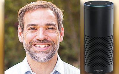 Rabbi Yehuda Susman, and Amazon Alexa-powered, voice-activated Echo device