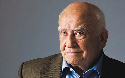 Ed Asner (Photo courtesy JCCOTP)