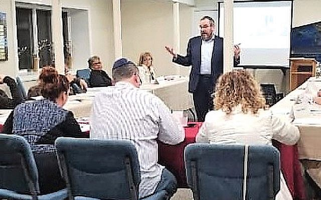 Rabbi Dov Drizin teaches at Valley Chabad's Academy of Jewish Studies (Courtesy Valley Chabad)