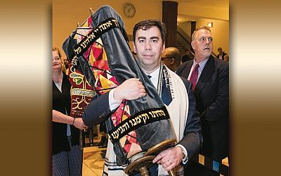 Rabbi Steven Sirbu of Temple Emeth in Teaneck. (Courtesy Emeth)