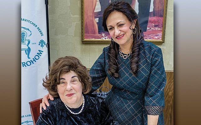 Esther Sternberg and Shterney Kanelsky (Courtesy Bris Avrohom)