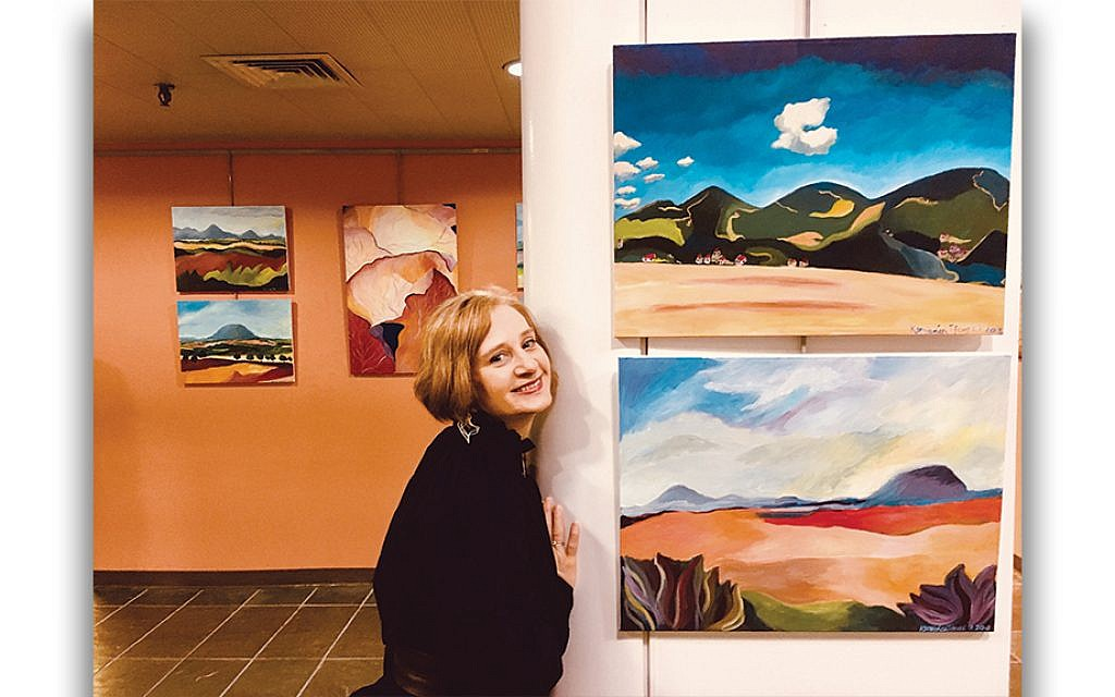 Bohemian landscapes at Teaneck Public Library