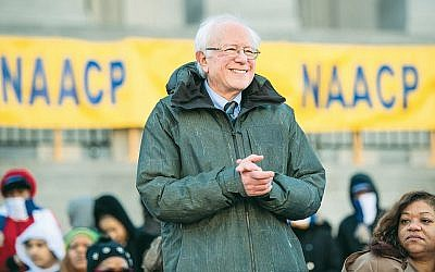 Sen. Bernie Sanders at the annual Martin Luther King Jr. Day at the Dome event in Columbia, S.C., January 21, 2019. (Sean Rayford/Getty Images)