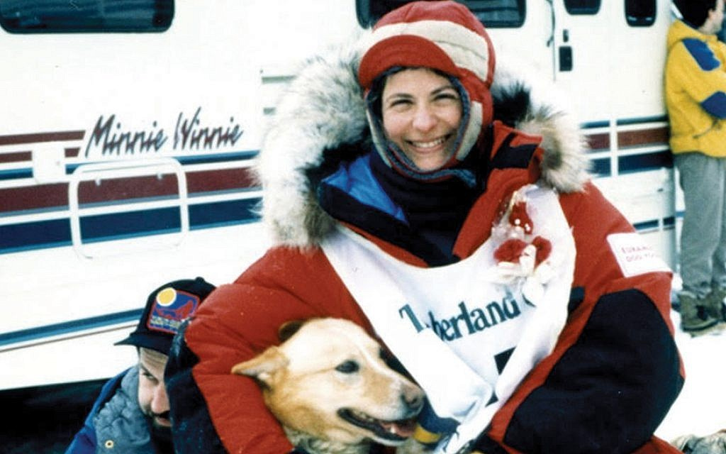 Here's the (actual) first Jewish woman to finish the Iditarod sled dog race