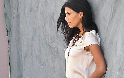 Linor Abargil as a model.