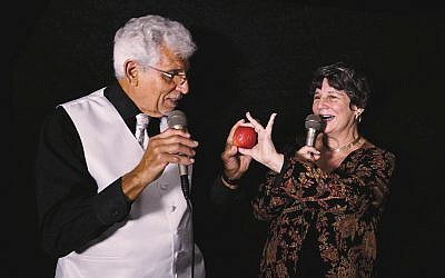 Lois Goldrich of Fair Lawn and Joe Ferrante of North Haledon perform together as the musical duo Sentimental Journey.