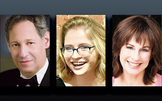 Matthew Lazar, left, Zoe Avery  Grossman, and Nurit Hirsh