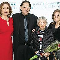 Karen Reisner, Craig Barnett, Eva Holzer, and Vivian Holzer