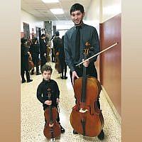 Carter Gurman and Chase Barnett