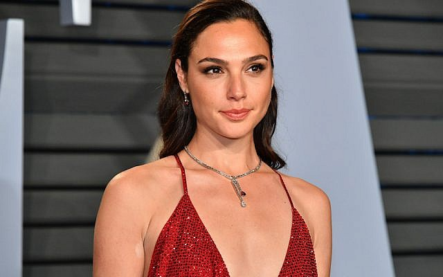 Gal Gadot at the 2018 Vanity Fair Oscar Party in Beverly Hills, Calif., March 4, 2018. (Dia Dipasupil/Getty Images)