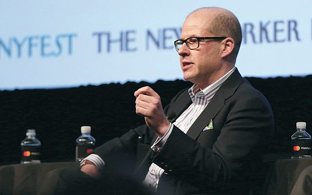 Max Boot speaks onstage at the New Yorker Festival at the SVA Theatre in Manhattan on October 8, 2016. (Anna Webber/Getty Images for the New Yorker)
