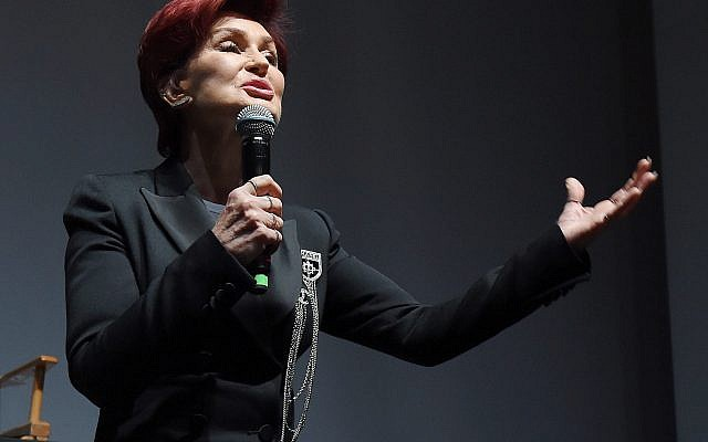 Sharon Osbourne attends the Ozzy Osbourne and Corey Taylor special announcement at the Hollywood Palladium in Hollywood, Calif., May 12, 2016. (Kevin Winter/Getty Images)