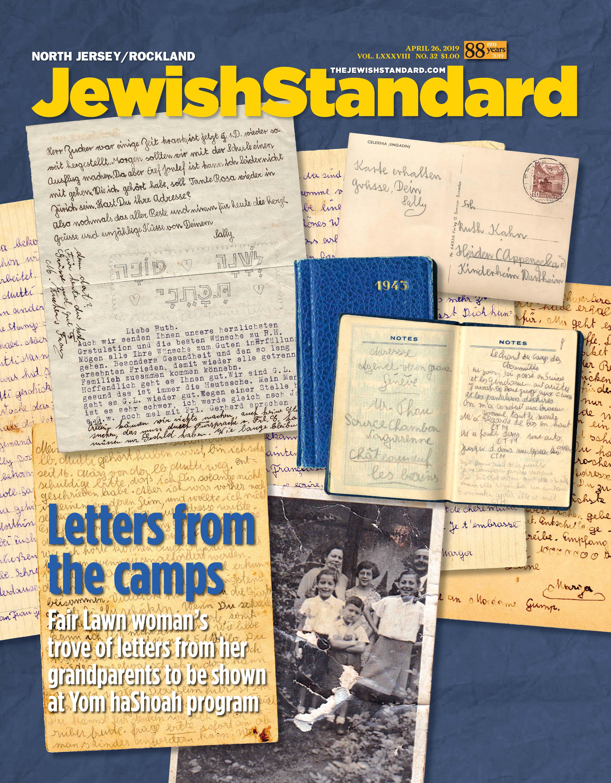 Jewish Standard, April 26, 2019
