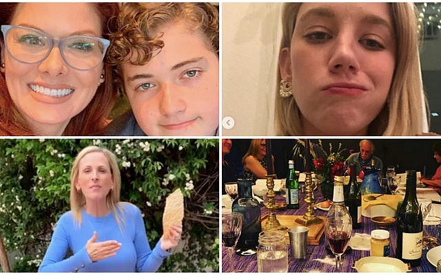 Plenty of famous Jews shared photos from their Passover celebrations on social media. (Instagram)