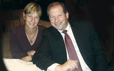 Rabbi Paula Mack Drill and Rabbi Craig Scheff