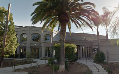 A view of the Chabad congregation in Poway, Calif. (Google Street View)