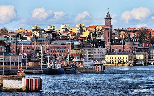 A view of the waterfront in Helsingborg, Sweden (tsaiproject/Flickr)