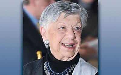 """Lillian Adler, z""""l"""