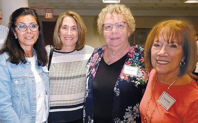 Board members Gail Loewenstein, Sue Ann Levin, Sue Feldman, and Sue Nagler