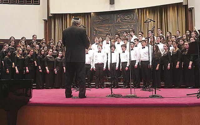HaZamir choir. (Photos courtesy HaZamir)