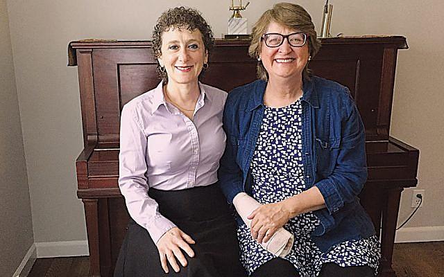 Gitl Schaechter-Viswanath, left, and Elaine Kallenbach