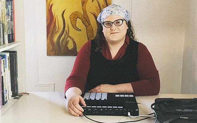 Rabbi Leiah Moser creates electronic music using these tools.