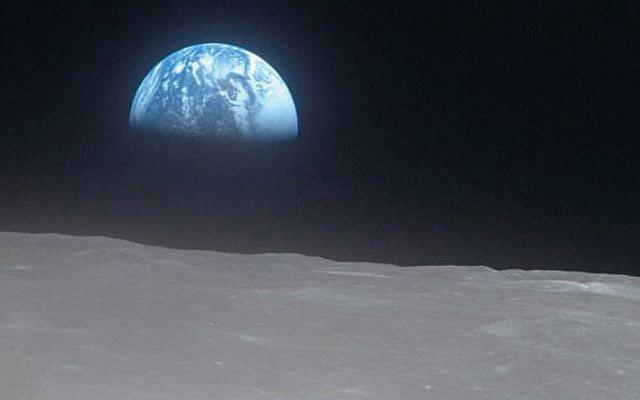 The earth as seen by the crew of Apollo 16. (NASA)