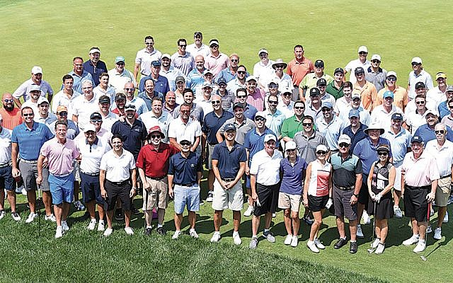 Last year's Play Fore! the Kids golfers. (Photo courtesy JCCOTP)