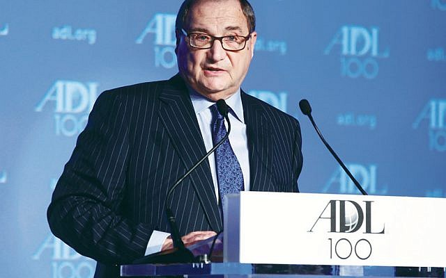 Abraham Foxman retired as head of the Anti-Defamation League in 2014. (David Karp)