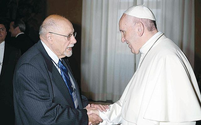 Rabbi Jack Bemporad and Pope Francis