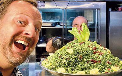 Rabbi David-Seth Kirshner of Temple  Emanu-El of Closter takes his food reviews seriously.