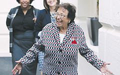 House Appropriations Committee Chairman Nita Lowey leaves a meeting with the House Democratic caucus one day after House Speaker Nancy Pelosi announced that Democrats will start an impeachment inquiry of U.S. President Donald Trump, in Washington, D.C. on September 25, 2019. (Mark Wilson/Getty Images)