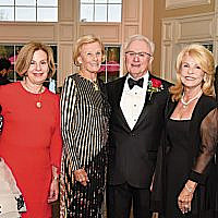 From left, Jewish Home's president and CEO, Carol Silver Elliot; its board chair, Carol K. Silberstein; Maggie Kaplen; honoree Leon Sokol; Jewish Home at Rockleigh's president, JoAnn Hassan Perlman; and Jewish Home Assisted Living's president, Peter Martin