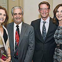 Linda and Dr. Bruce Rothschild with David and Jayne Petak