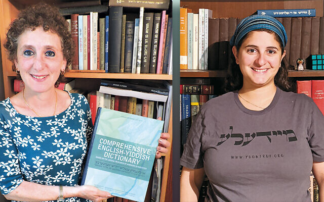 Gitl Schaechter-Viswanath, left, and Meena Viswanath