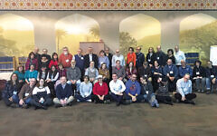 Some of the parents who were at last year's Eshel retreat; others prefer anonymity.