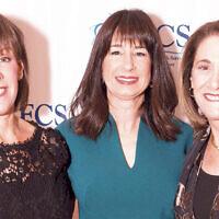 Gala co-chairs Barbara Bender, Suzette Diamond, and Sue Ann Levin