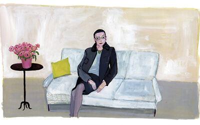 Maira Kalman, Ruth Bader Ginsburg, 2009. (© Maira Kalman. Courtesy Julie Saul Gallery, New York.)