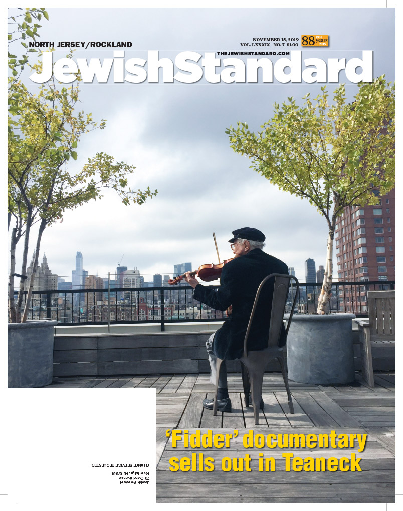 Jewish Standard, November 15, 2019